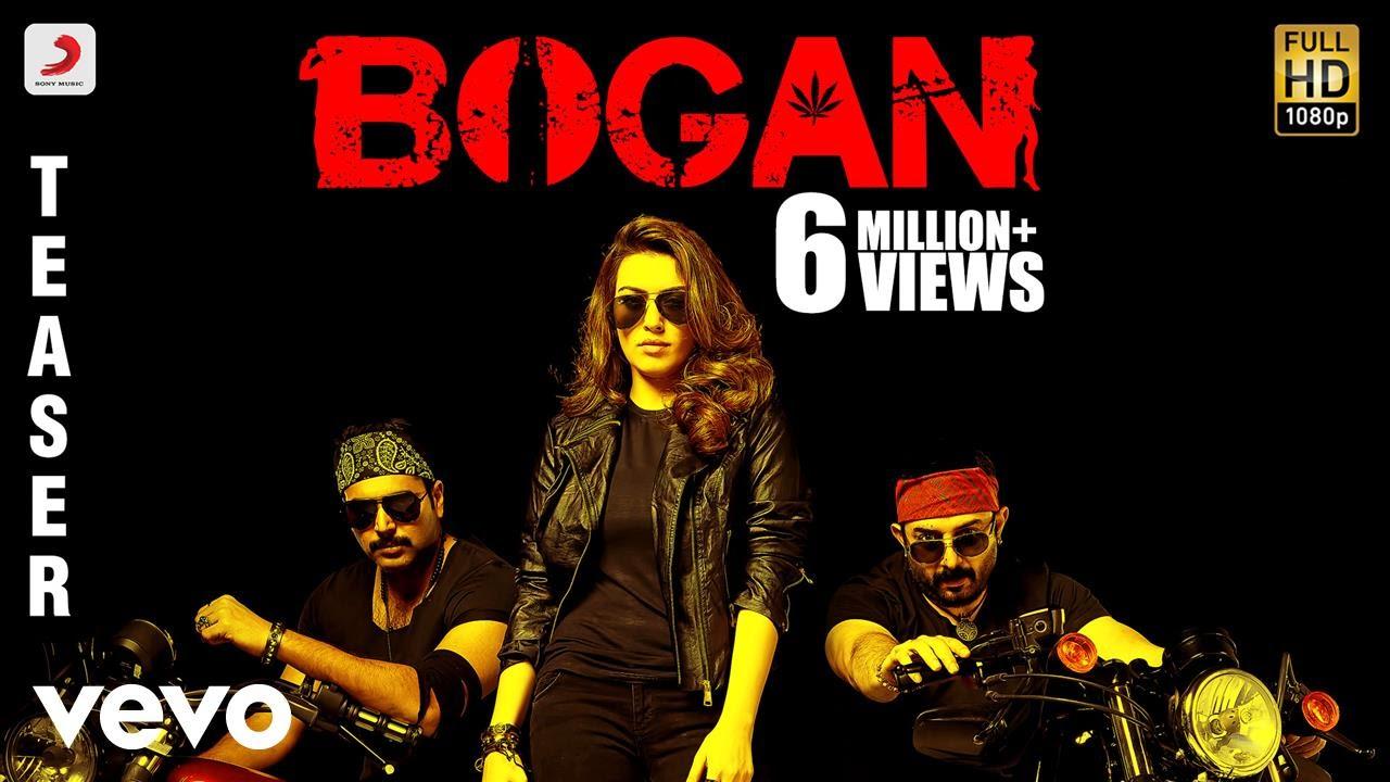 Watch Bogan Movie Official Tamil Teaser
