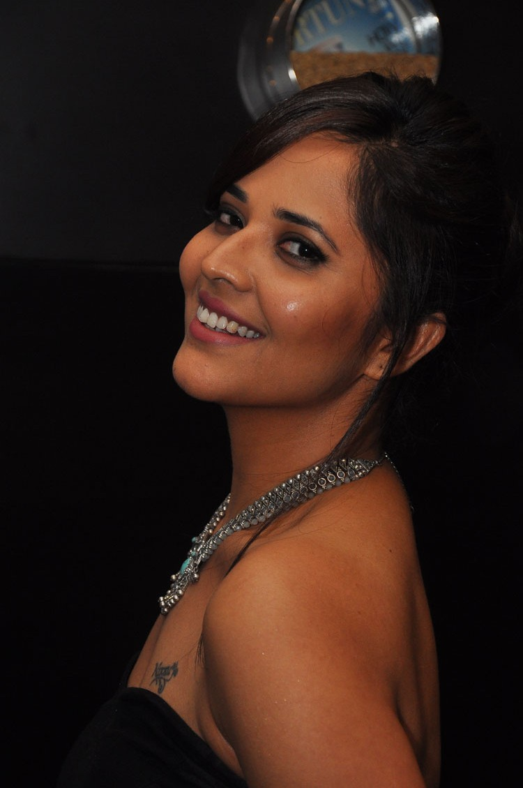 actress anasuya hot stills at winner movie pre release event southcolors 3