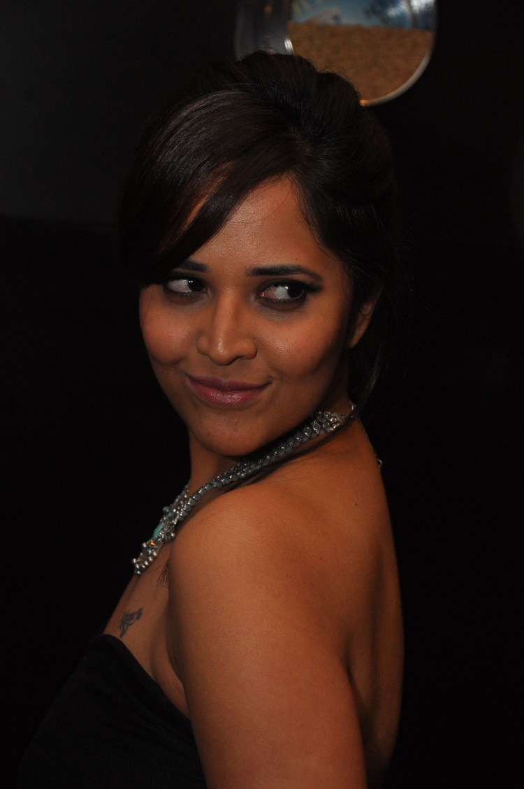 actress anasuya hot stills at winner movie pre release event southcolors 6