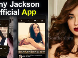 Amy Jackson Launches Her Official Mobile App
