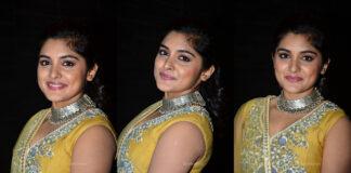 Nivetha Thomas Stills At Ninnu Kori Pre-Release Event