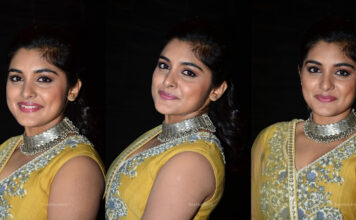 Nivetha Thomas Stills At Ninnu Kori Pre-Release Event