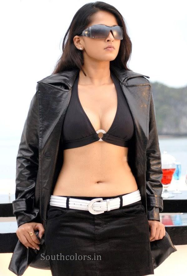 actress anushka shetty hot bikini navel show photos southcolors 24