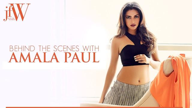 Amala Paul Hot Photoshoot in JFW Magazine 2017