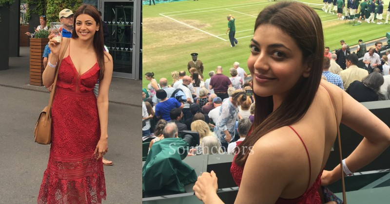 kajal aggarwal hot latest photos at wimbledon 2017 southcolors 8