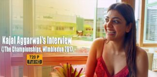 Kajal Aggarwal Interview At Wimbledon 2017