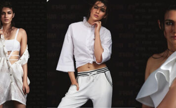 Kriti Sanon Get Wet and Wild Cover of FHM Magazine 2017 Photos