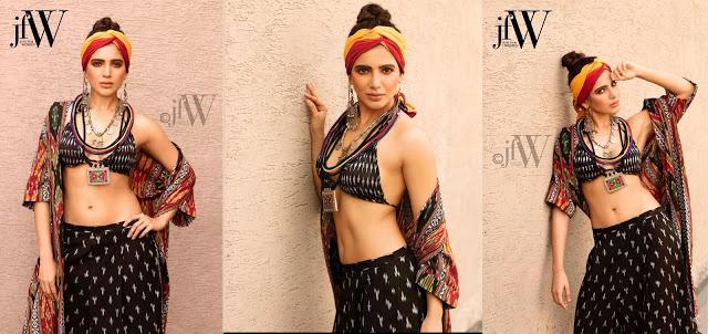 Samantha Ruth Prabhu Hot Poses For JFW Magazine 2017 Photoshoot