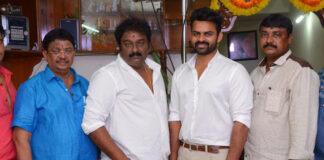 Sai Dharam Tej and VV Vinayak Movie Launched