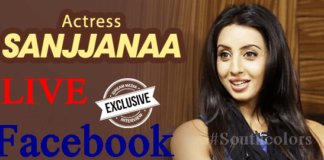Sanjjanaa Facebook Live Chat With Fans