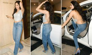 jhanvi kapoor hot backless photos 2017 9