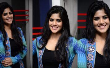 Megha Akash at LIE Movie Thank You Meet Photos