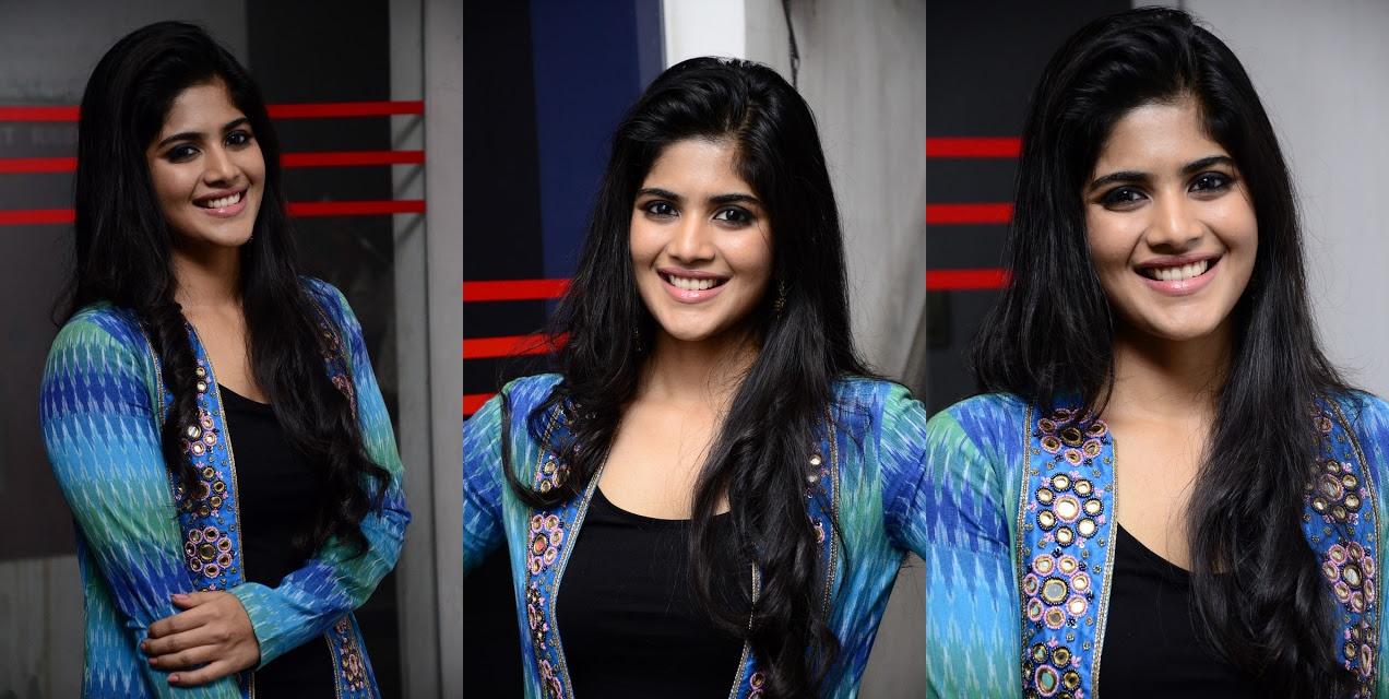Megha Akash at LIE Movie Thank You Meet Photos