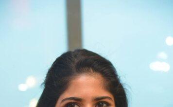 Actress Megha Akash Photos at Radio Mirchi