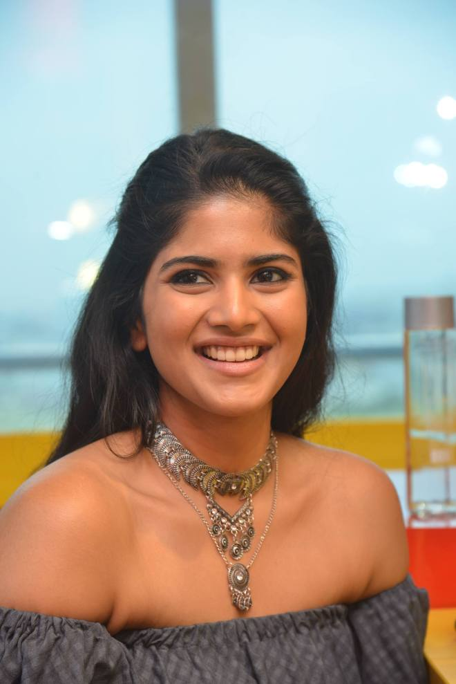 Actress Megha Akash Photos at Radio Mirchi