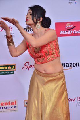 Harshika Poonacha at mirchi music awards southcolors 14