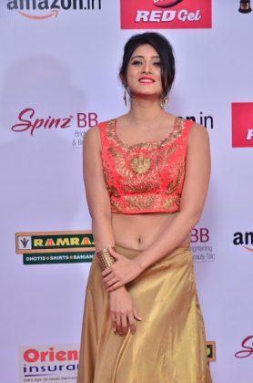Harshika Poonacha at mirchi music awards southcolors 17