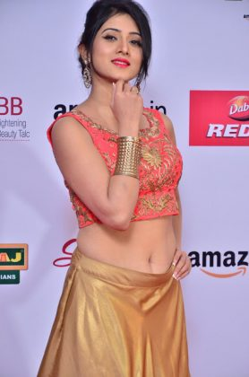 Harshika Poonacha at mirchi music awards southcolors 19