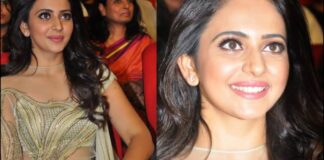 Rakul Preet Singh Photos at Spyder Movie Pre-Release Event