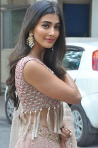 actress pooja hegde stills at sakshyam movie first look motion poster launch 10
