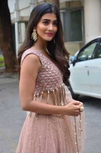 actress pooja hegde stills at sakshyam movie first look motion poster launch 14