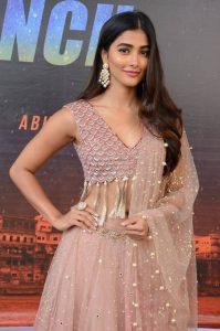actress pooja hegde stills at sakshyam movie first look motion poster launch 4