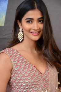 actress pooja hegde stills at sakshyam movie first look motion poster launch 6
