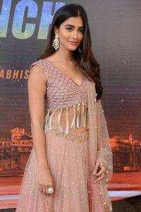 actress pooja hegde stills at sakshyam movie first look motion poster launch 7