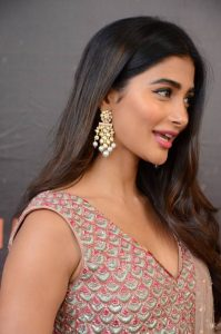 actress pooja hegde stills at sakshyam movie first look motion poster launch 8