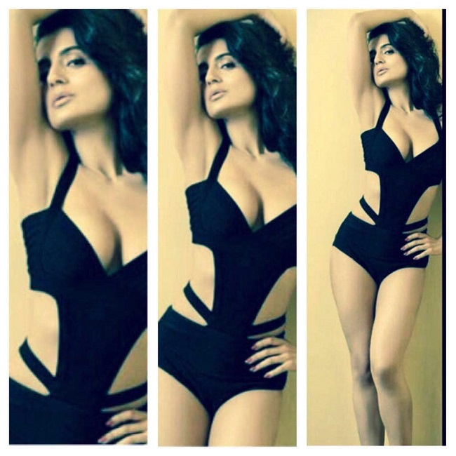 Ameesha Patel Shows oFF her Bold Avatar