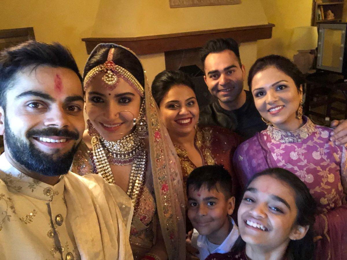 anushka sharma and virat kohli married photos 4