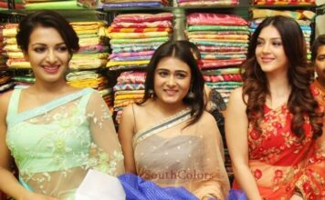 Catherine, Mehareen, Shalini Pandey launched KLM Fashion Mall at Vizag