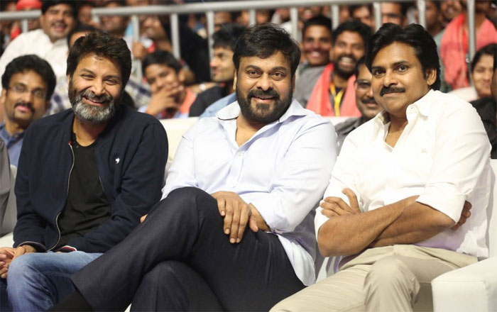 Chiranjeevi Chief Guest For Agnyaathavaasi Movie Pre-Release Event