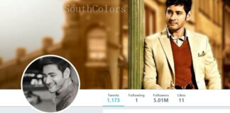 Mahesh Babu Gets 5 Million Followers on Twitter