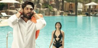 Pooja Hegde Swimming Pool Scene From DJ Duvvada Jagannadham