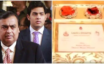 Mukesh Ambani son Akash Ambani Wedding Card Goes Viral