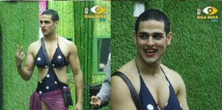 Priyank Sharma in Bikini Impersonates Vikas Gupta's Mother