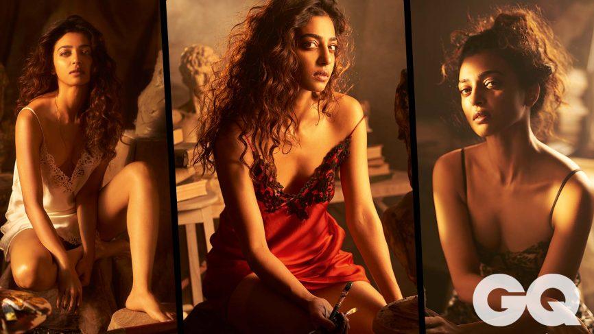 Radhika Apte Hottest Photoshoot For GQ Magazine Cover