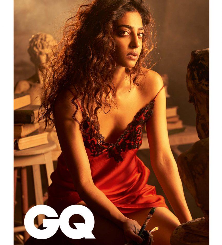 radhika apte hottest photoshoot for gq magazine cover 2