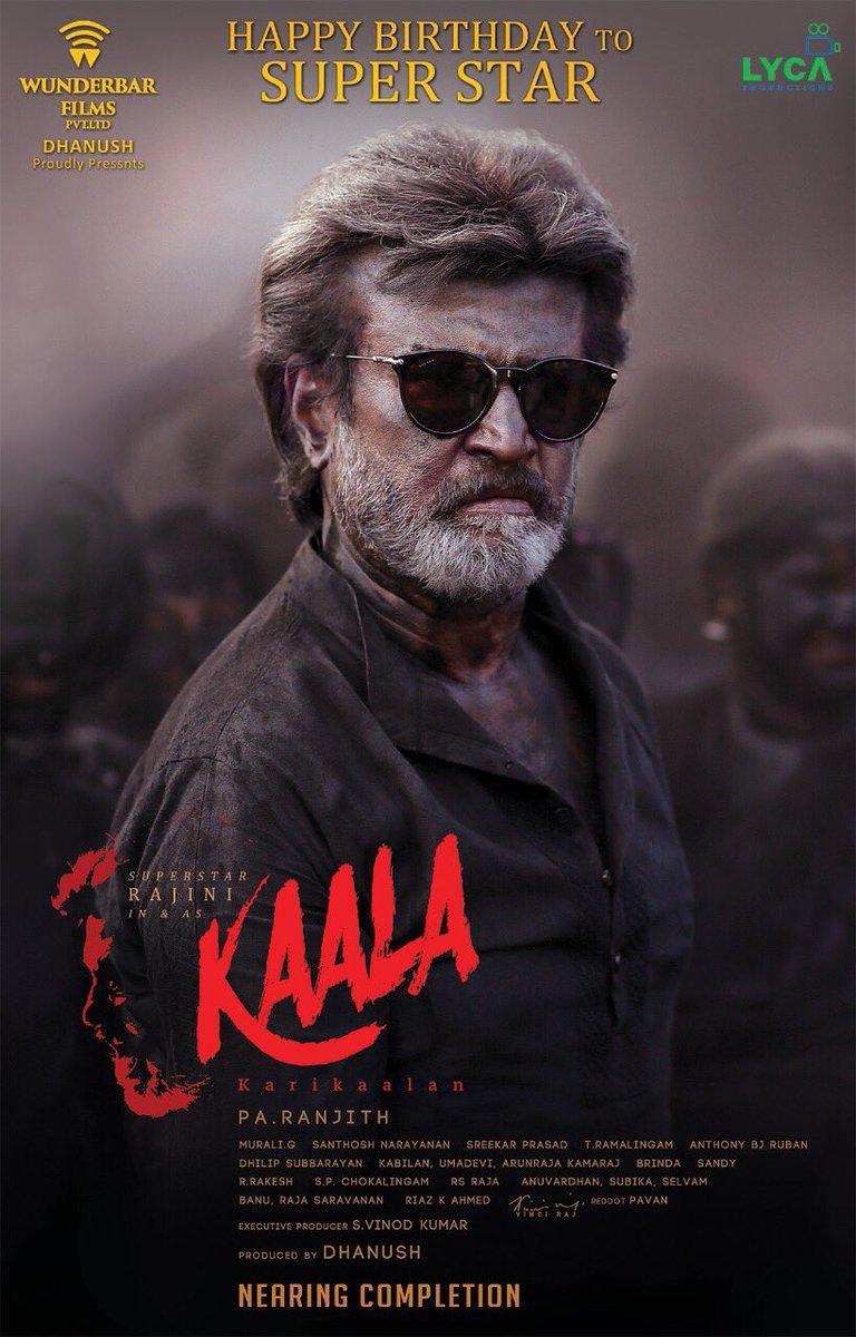rajinikanth-birthday-special-kaala-movie-second-look-poster