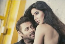 Salman Khan and Katrina Kaif on Vogue Cover