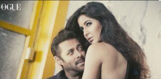 Salman Khan and Katrina Kaif on Vogue Cover