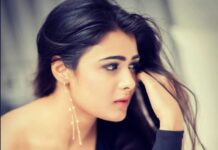 Shalini Pandey Photoshoot In Black Dress