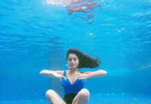Tridha Choudhary Sets Fire on Water with Underwater Yoga