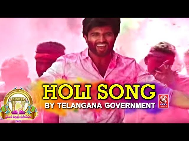 Vijay Devarakonda HOLI Song Directed by Vamshi Paidipall