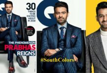 Prabhas Poses for GQ Magazine India 2018