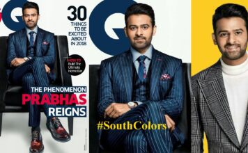 Prabhas Poses for GQ Magazine India 2018