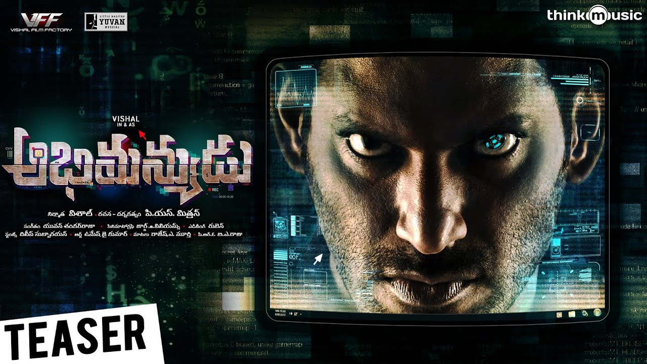 Abhimanyudu Movie Official Teaser
