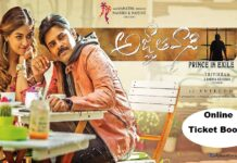 Agnyaathavaasi Movie Tickets Online Booking Advance
