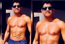 Akkineni Nagarjuna Six-Pack look in RGV's Film